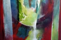 Omphalos oil/canvas 90x90cm