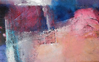 threshold 25x50 cm oil/canvas