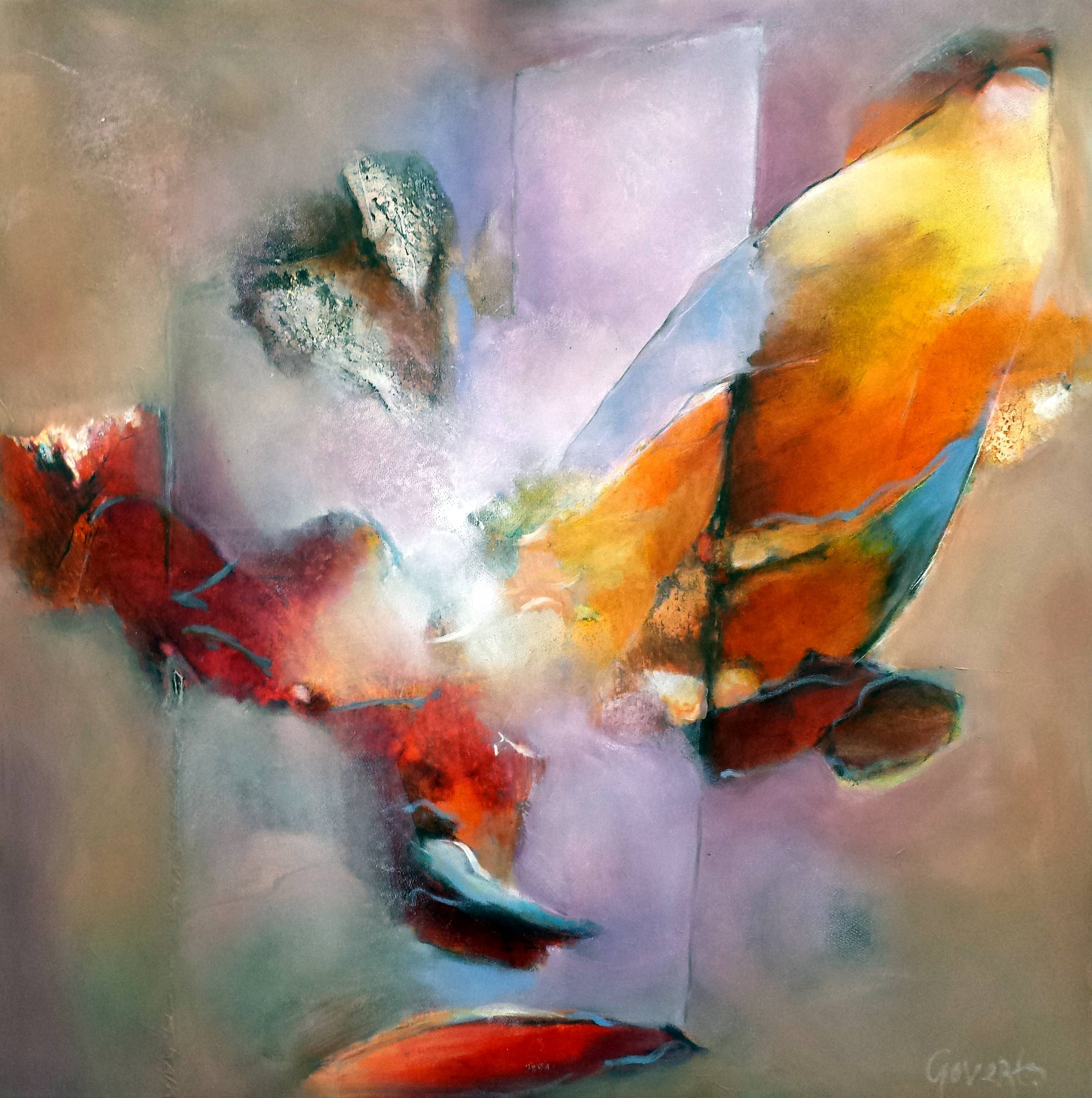 casa-creativa-90x90cm, oil on canvas