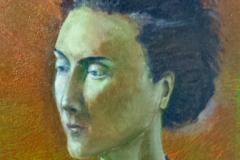 Isabel, study2 40x50cm