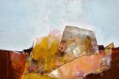 Donzenac 90 x 90 cm oil/canvas