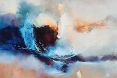 sans doute 70 x 70 cm oil/canvas
