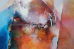 terra inconnue 110 x 110cm oil/canvas